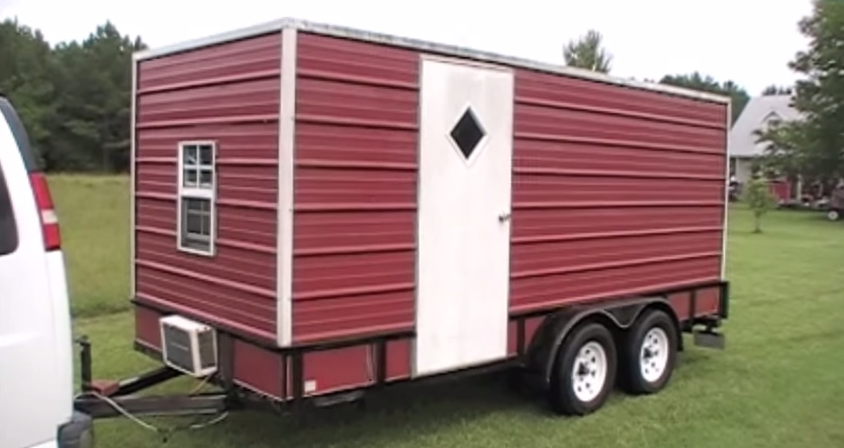 Yes You Can Make A Utility Trailer Camper To Sleep Your 8