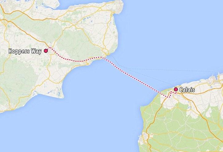 man tied to motorhome makes 54 miles journey OK