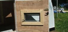 solid construction on this camper door