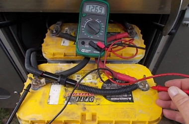 How to Perform Open Voltage Testing on Your RV House Batteries