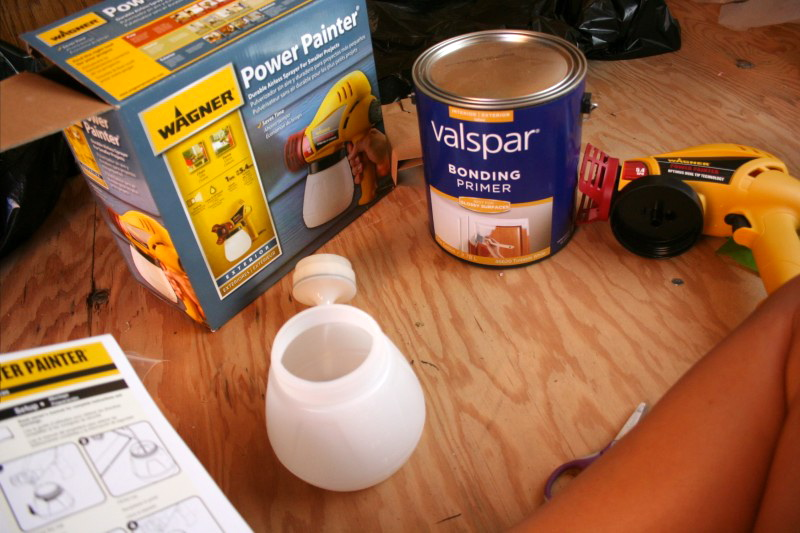use a dedicated primer before painting finished cabinetry