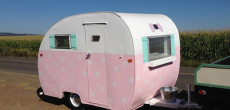 This Vintage 1948 Shasta Aljoa Trailer Is Called 'Polky'.