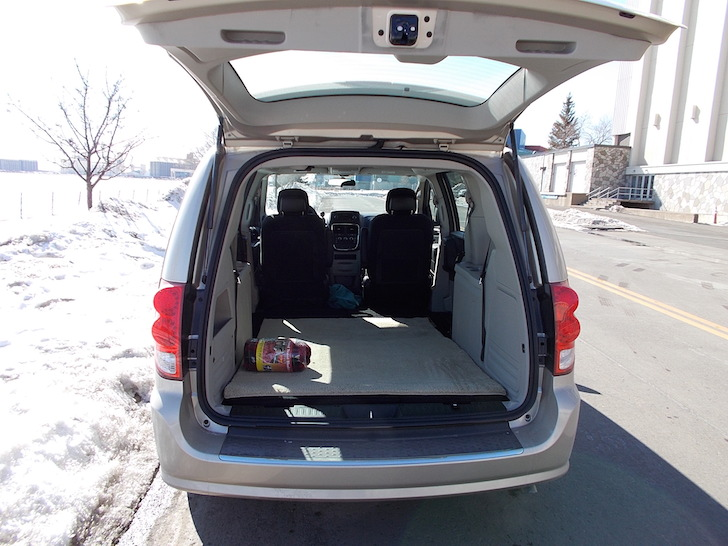 Small Conversion Vans >> Van Dwelling in a Mini Van: Why, How, and Getting Started.