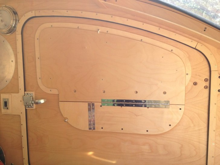 Both doors come with privacy screens to completely block the view into the camper