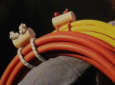 Custom extension cord wraps