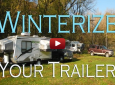 How to Winterize Your RV With or Without an Onboard Washer and Dryer. [VIDEO]