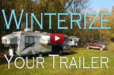 How to winterize your trailer