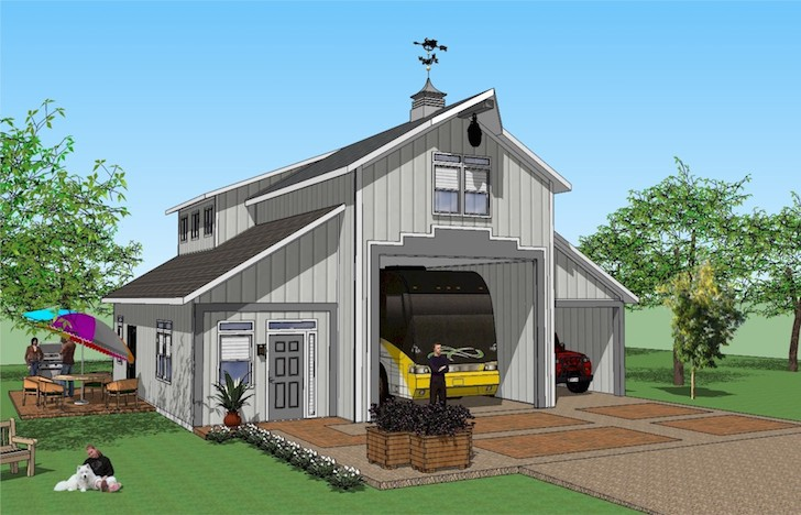 You 39 ll love this rv port home design it 39 s simply spectacular for House plans with rv storage