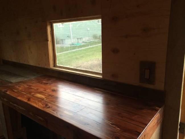Inside Duncan McGovern's DIY truck camper