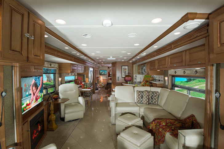 Inside a Winnebago Grand Tour