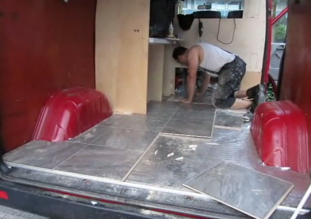Installing the flooring
