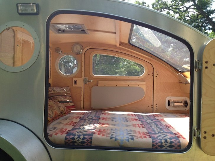 Finally a sleek modern and high quality teardrop camper for How do you get into interior design