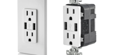 Leviton USB charging receptacle