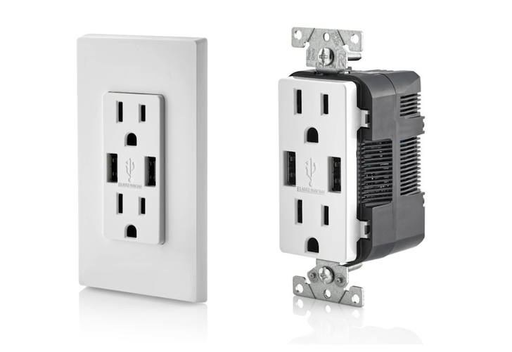 Rv Electrical Outlet >> Charge Electronic Devices More Easily With a USB Receptacle