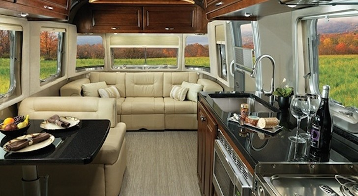 Airstream Redesigns Their 'Classic' Travel Trailer for 2015. Full-Timers and Most-Timers Take Note.