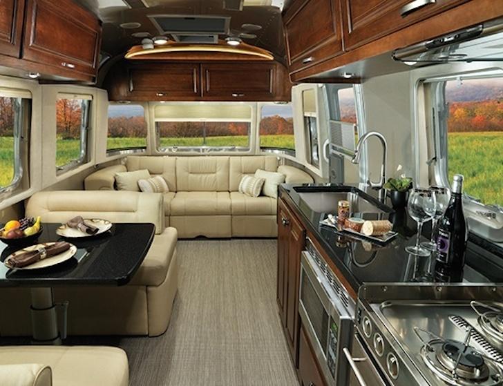 New 2015 Airstream Classic travel trailer