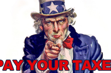 Pay your taxes on your RV
