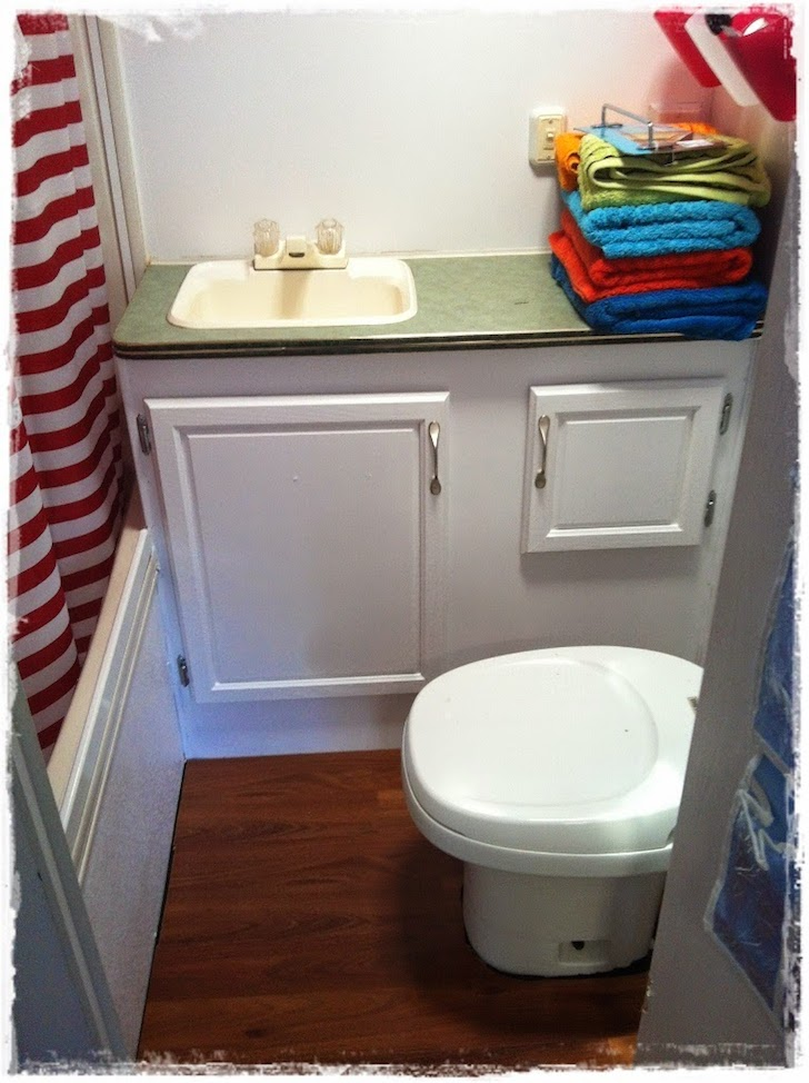 Renovated bathroom from another angle