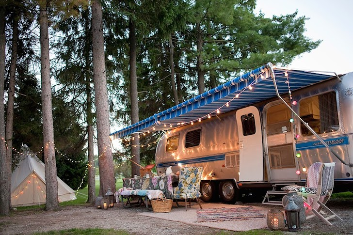 See This Vintage Airstream Transformed Into A Beautiful
