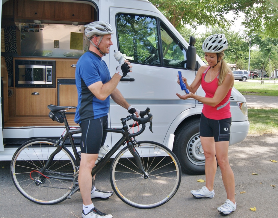 Get outside of your RV to stay fit