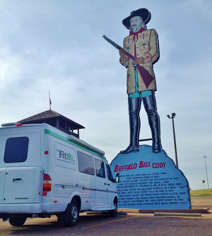 The Fit RV at Fort Cody Trading Post