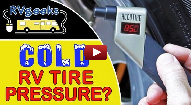 Why you should take tire pressure readings when your tires are cold