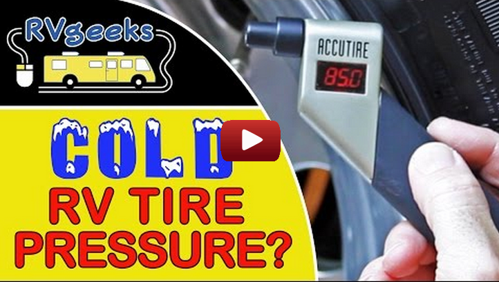 prevent artificially inflated readings  rv tires