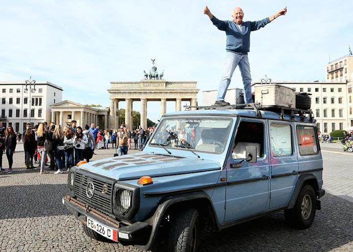 Yes, back in Berlin finally!