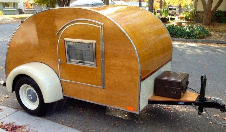 1940s teardrop camper