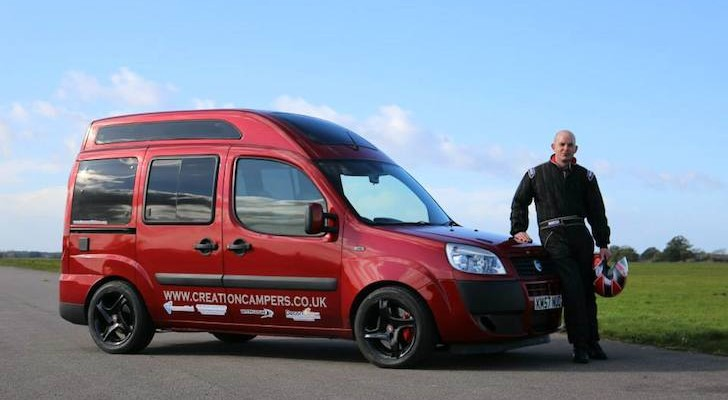Creation Campers new World Record for fastest motorhome