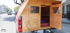 A Handyman Made His Own Custom Wooden Truck Camper. He'll Make One For You Too.