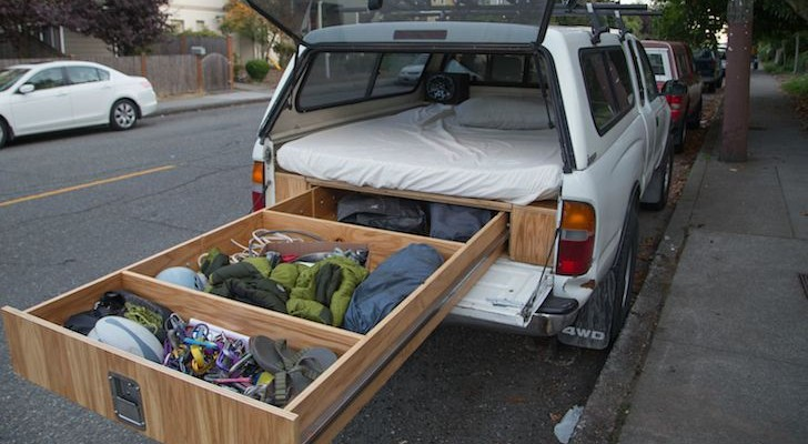 Could This Be The Ultimate Space-Saving Truck Camper Design?