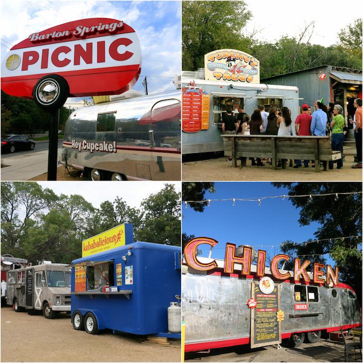 Food trucks everywhere!