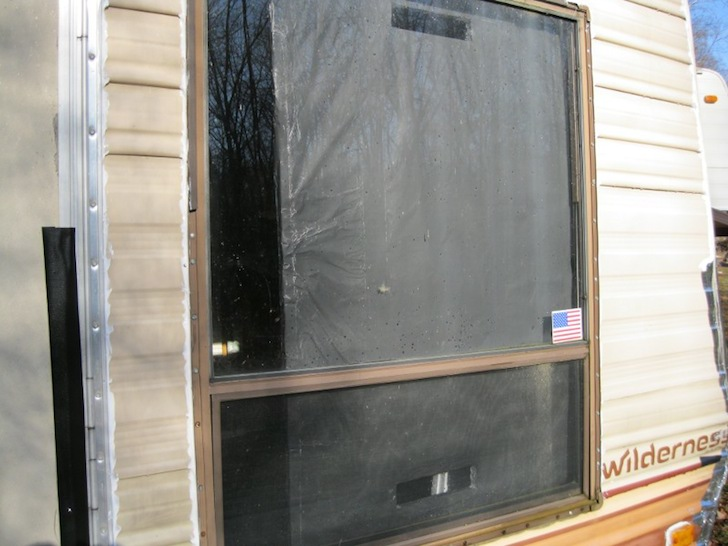 Homemade passive solar window heater