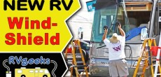 How to replace an RV windshield on a Class A motorhome