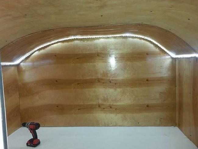 Laminate and LED lighting