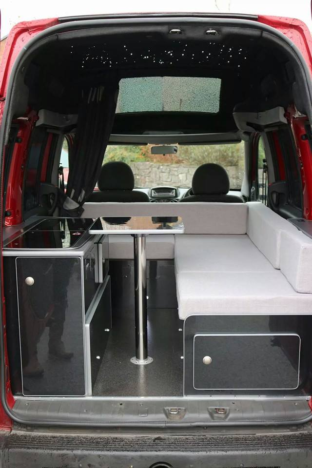 Living area of the World's Fastest Motorhome