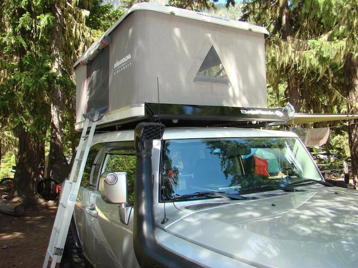 Maggiolina AirLand roof top tent at c&site & AutoHome Maggiolina AirLand: A Refined Roof Top Tent
