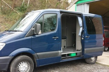 Wheelchair Accessible Mercedes Sprinter Van Conversion. No Frills, 100% Practical.