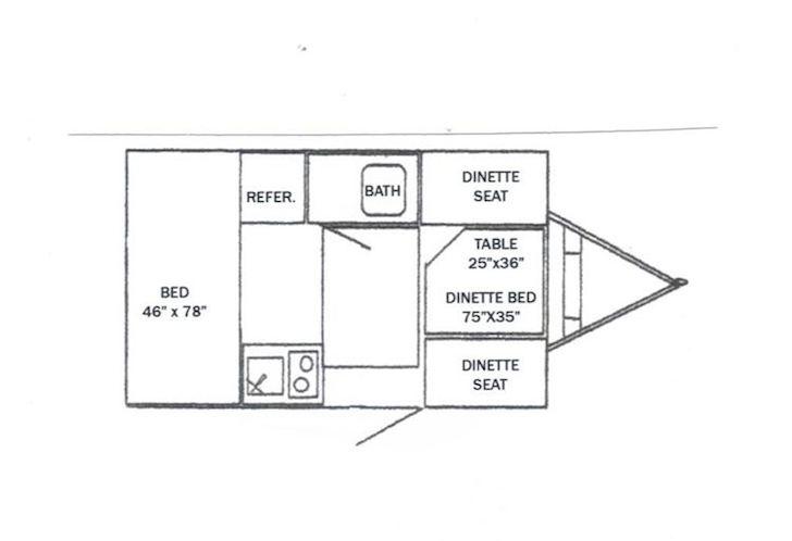 Model 155 White Water floor plan