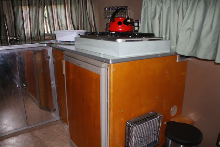 New Dometic RV refrigerator