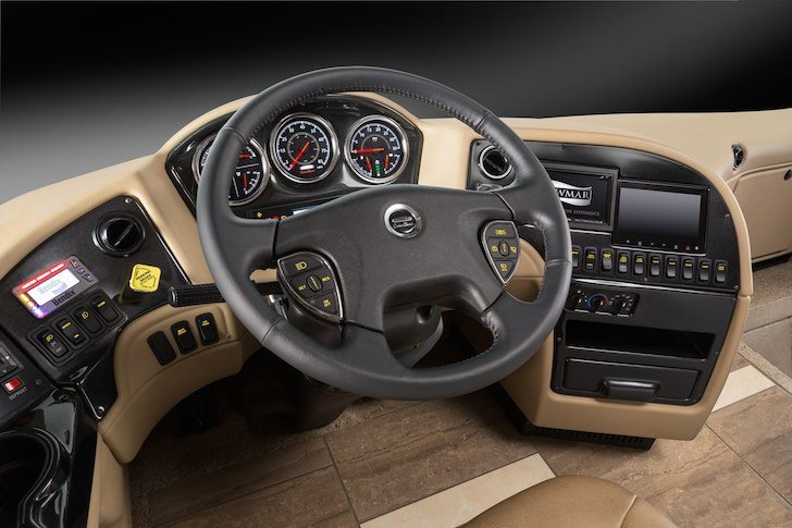 Newmar's Comfort Drive steering system