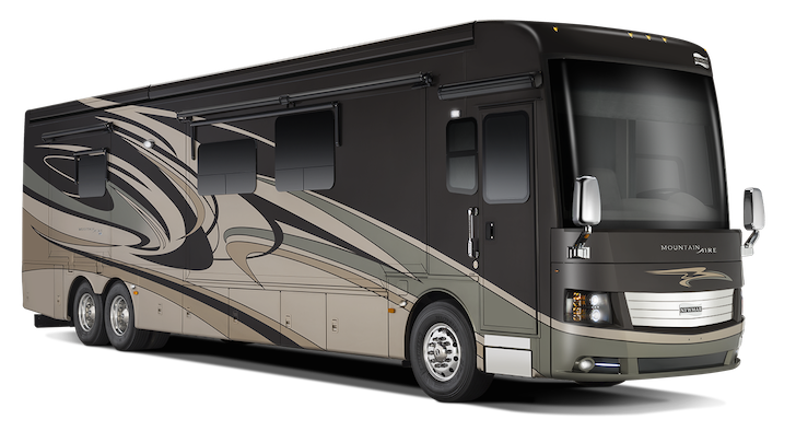 Palmetto color scheme on a 2015 Newmar Mountain Aire