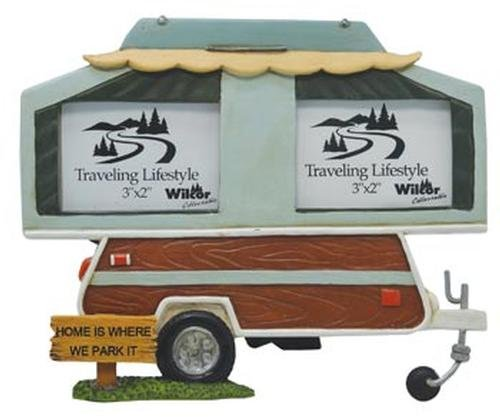 Pop up camper picture frame