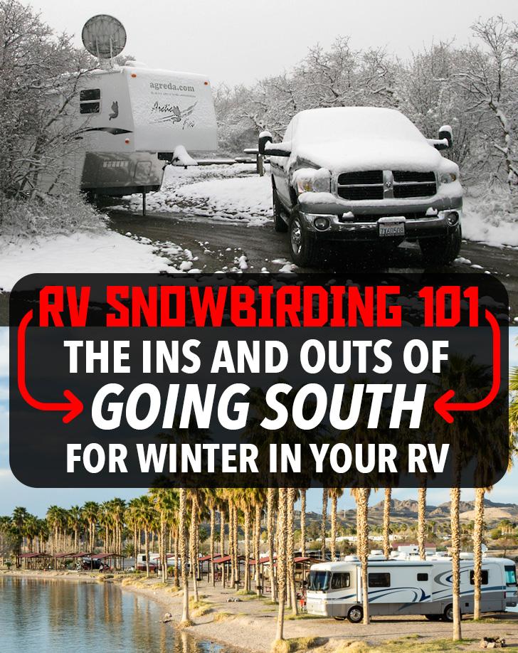 RV Snowbirding 101 - How to Go South for the Winter