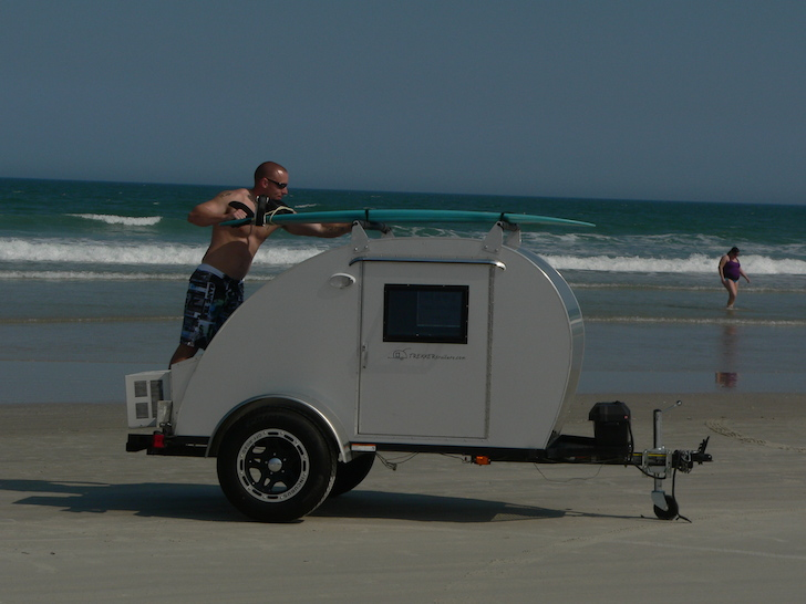 Roof rack for carrying surf boards or your favorite outdoors gear