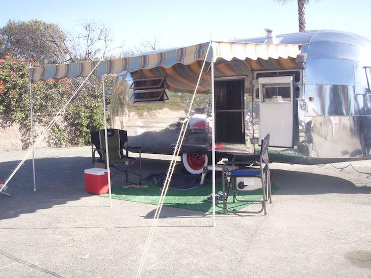 Setup for camping