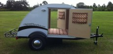 Simple Sleeper Teardrop by Trekker Trailers