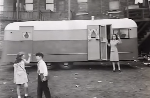 Watch This Interesting Documentary On Trailer Life In The Mid-20th Century. Lots Of Fascinating Interviews.