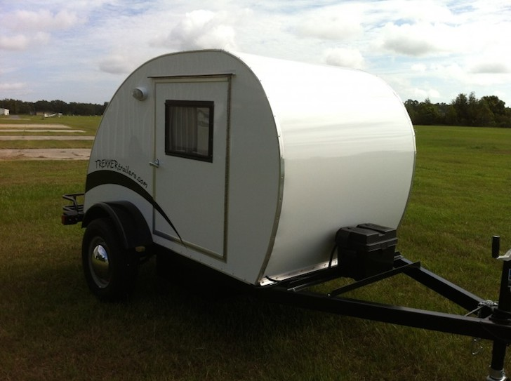 Surf Rack For Car >> Cozy Simple Sleeper Teardrop By Trekker Trailers Sleeps Two